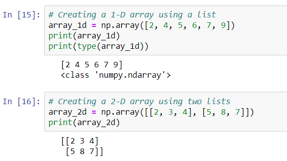 NumPy for Beginners: PART - 1 How to create and inspect NumPy Array