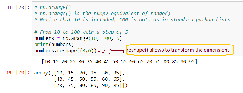 Numpy Empty Matrix