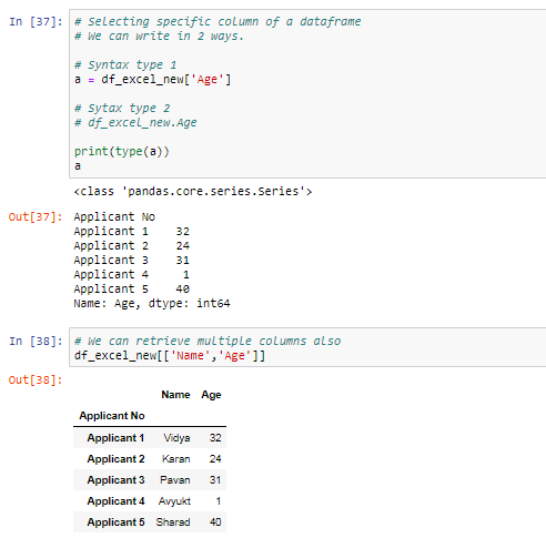 Pandas for beginners: Part -3 Indexing and Selecting data from the